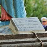 Inaugurazione Monumento dedicato a Maria, Madre della Misericordia